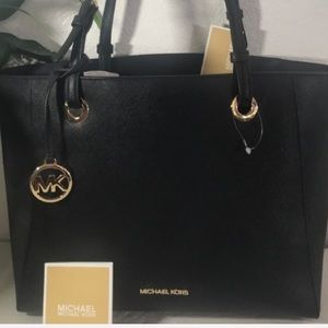 MICHAEL KORS WALSH MD TOTE BAG LEATHER